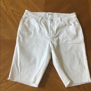 Original Kensie Denim White Short